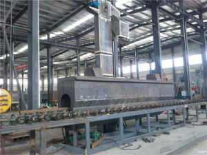 Highly Efficient Steel Pipe Shot Blasting Cleaning Machine pictures & photos