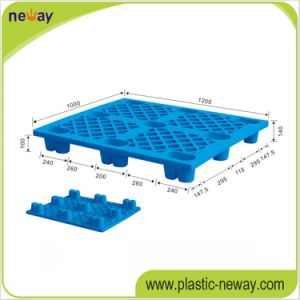 Best Selling Blue High Quantity Plastic Pallet pictures & photos