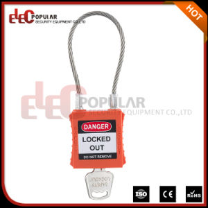 Famous Brands Elecpopular New Products 2016 Safety Cable Padlock pictures & photos
