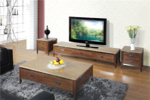 Wooden TV Stand with Drawer Wooden Furniture pictures & photos