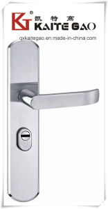 304 Stainless Steel Hollow Door Handle on Plate (KTG-6809-012) pictures & photos
