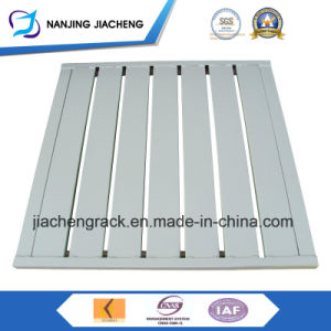 Industrial Heavy Duty Powder Coating Flat Faced Metal Pallet pictures & photos