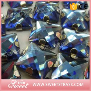 Sew on Acrylic Resin in Silver Claw pictures & photos