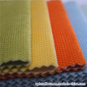 Colorful Polyester Velour Sofa Upholstery Fabric pictures & photos