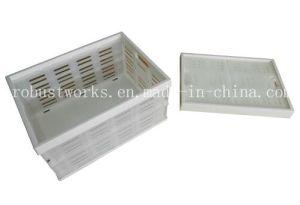 Portable Folding Plastic Basket (FB004W-1) pictures & photos