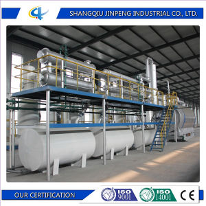European Standerd Scrap Plastic Pyrolysis Plant with CE pictures & photos