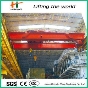 Lifting Machinery 20 Ton Double Girder Bridge Overhead Crane pictures & photos