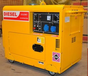 Small Quiet Portable 5kw Diesel Generator pictures & photos