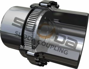 Suoda Gear Coupling Large Size Drum Gear Coupling with Connecting Tube Large Transmission Torque Professional Coupling Manufacturer Gazt Type pictures & photos