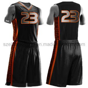 Cheap Design Sublimated Basketball Uniform (ELTLJJ-138) pictures & photos