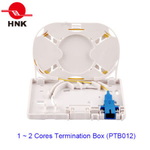 1 ~ 4 Cores Fiber Optic Cable Termination Box (PTB012) pictures & photos