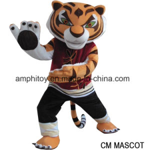 The Tiger From Kungfu Panda Movice Mascot Costume for Sale