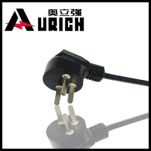 Israel Certificated AC Power Cord 3pin Plug pictures & photos