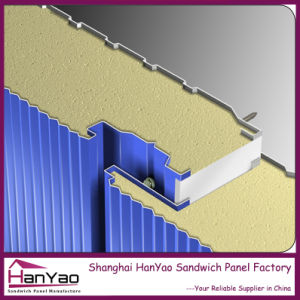Fireproof Steel Rockwool Sandwich Wall Panels pictures & photos