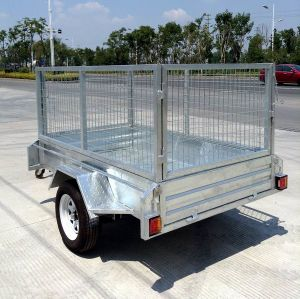 8X5 Single Axle Light Duty Utility Box Trailer (SWT-BT85-L) pictures & photos