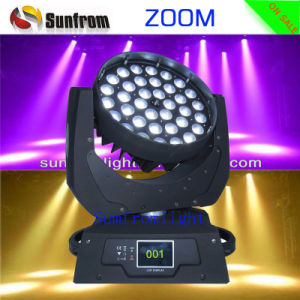 36 10W Zoom LED Moving Head Wash and Beam Light pictures & photos