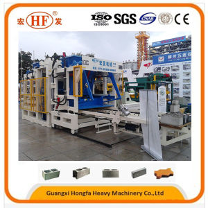 Hollow Block Solid Brick Grey Paver Curbstone Forming Machine pictures & photos