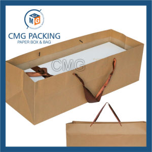 Unusual Size Customized Kraft Paper Bag (DM-GPBB-170) pictures & photos