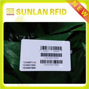 Cr80 Printable Plastic Blank Smart Card with Different Kind of Barcode pictures & photos