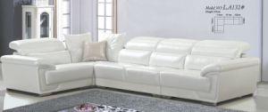 European Modern Classics Sofa White Leather Sofa pictures & photos