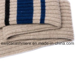 Stripe Patterns Winter Long Style Knitted Scarf pictures & photos
