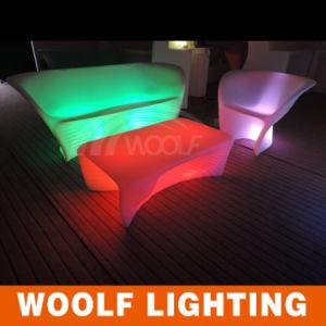 LED Sofa RGB LED Plastic Sofa Light up LED Sofa pictures & photos