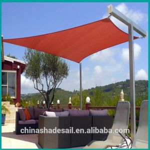 Terracotta Color HDPE Garden Sun Shade Sail (Manufacturer)