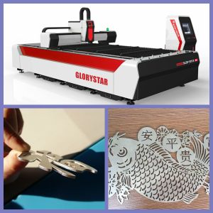 Ipg Fiber Laser Cutting Machine for Metal Sheet with 3000*1500 mm pictures & photos