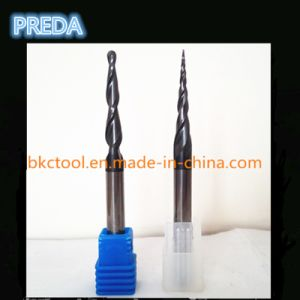 China Professional Carbide Taper Ball Nose Bits for Wood pictures & photos