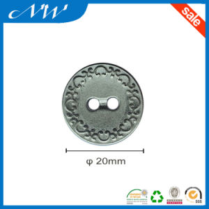 Two Hole Metal Button Zinc Alloy Button pictures & photos