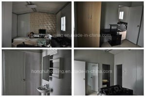 Luxury Steel Prefabricated Villa Building Portable House for Hotel pictures & photos