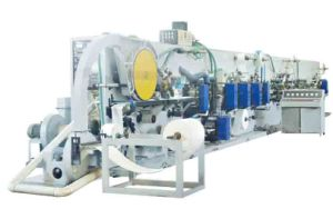 The Finish Process Sanitary Napkin Making Line pictures & photos
