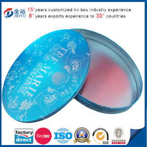 Irregular Oval Shaped Tin Box for Gift pictures & photos
