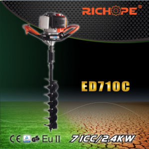 71cc Professional Portable Gasoline Earth Drill (ED710C) pictures & photos