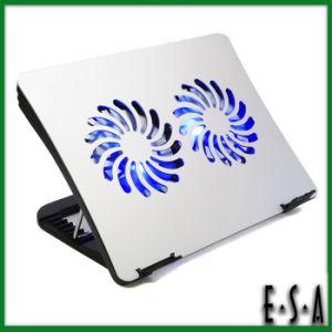 2015 Adjustable Laptop USB Cooling Pad, USB Laptop PC Cooling Cooler Pad, Folding Laptop Notebook USB Cooling Pad Cooler G22A130 pictures & photos