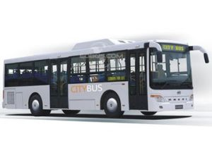 Ankai Monocoque Structure Ng City Bus pictures & photos