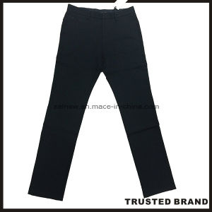 Top Design Dark Blue Soft Casual Pants Trousers (T034-A1)