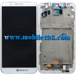 LCD Screen and Digitizer with Front Housing for LG G2 D802 pictures & photos