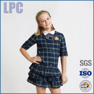 2016 OEM Custom Promotional Trendy School Student Uniform pictures & photos