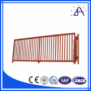 High Quality Powder Coated 6063-T5 Aluminum Profile for Fence pictures & photos