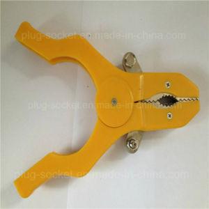 20A Copper Clip PVC Boot Battery Clip/Alligator Clip (RJ-Y1036B) pictures & photos