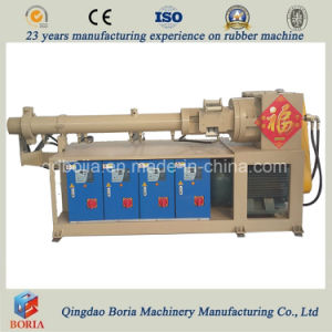 Cold Feeding Rubber Extruder, Rubber Strip Extrusion Line pictures & photos