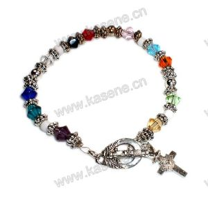 Fashion Crystal Bracelet, Rosary Bracelet pictures & photos