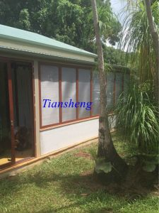 Double Glazing Aluminum Sliding Window with Flyscreen pictures & photos