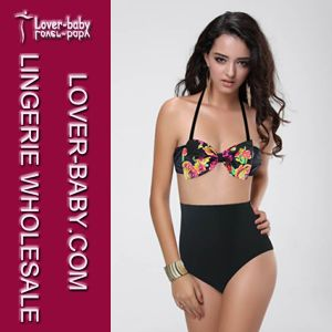 Lady Beach High Waist Swimwear (L3245-4) pictures & photos