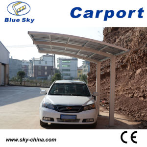 Good Warranty Polycarbonate and Aluminum Car Parking pictures & photos