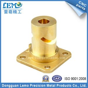 High Precision Customized Brass CNC Turning Parts for Audio Equipment (LM-1995A) pictures & photos