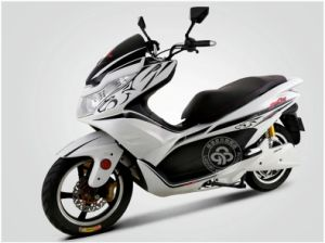 Motor 3000W Dual Li-ion Battery 60V25ah Max Speed 80km/H Electric Motorcycle pictures & photos