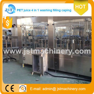 3 in 1 Pet Bottle Automatic Fruit Juice Filling Machine pictures & photos