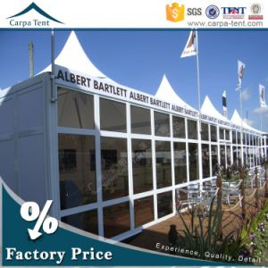China 8m*8m Outdoor Wind Resistant PVC Pagoda Tent for Exhibition or Event pictures & photos